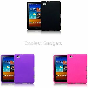 For-Samsung-Galaxy-P6800-Tab-7-7-Flexible-Rubber-Skin-Case-Cover