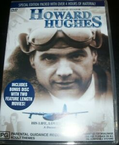 Howard-Hughes-The-Great-Aviator-Australia-All-Region-DVD-Like-New