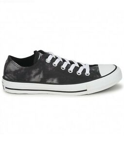 02bc989a5b83 Converse All Star Ox Low Top Black White Tie dye Chuck Taylor New
