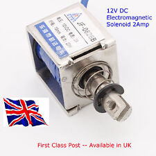 12V Open Frame Electromagnet Solenoid Model JF-0826B Available in UK First Class