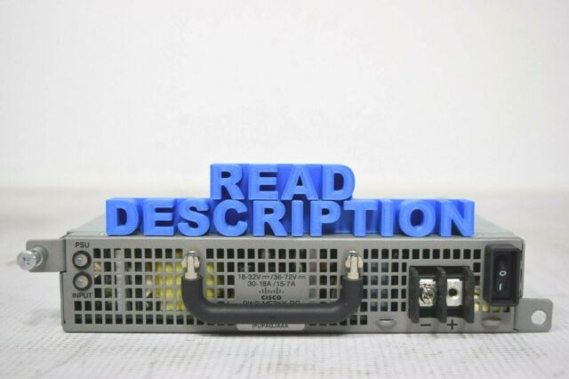 Cisco PWR-ME3KX-DC Redundant Power Module