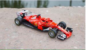BBURAGO-F1-RACE-FERRARI-SF70H-5-S-Vettel-2017-1-43-Modello-Pressofuso
