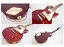 thumbnail 8 - Epiphone Les Paul Studio Standard Wine Red Electric Guitar 2005 with Soft Case