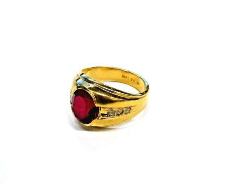 18K Gold Plated Men's Ring