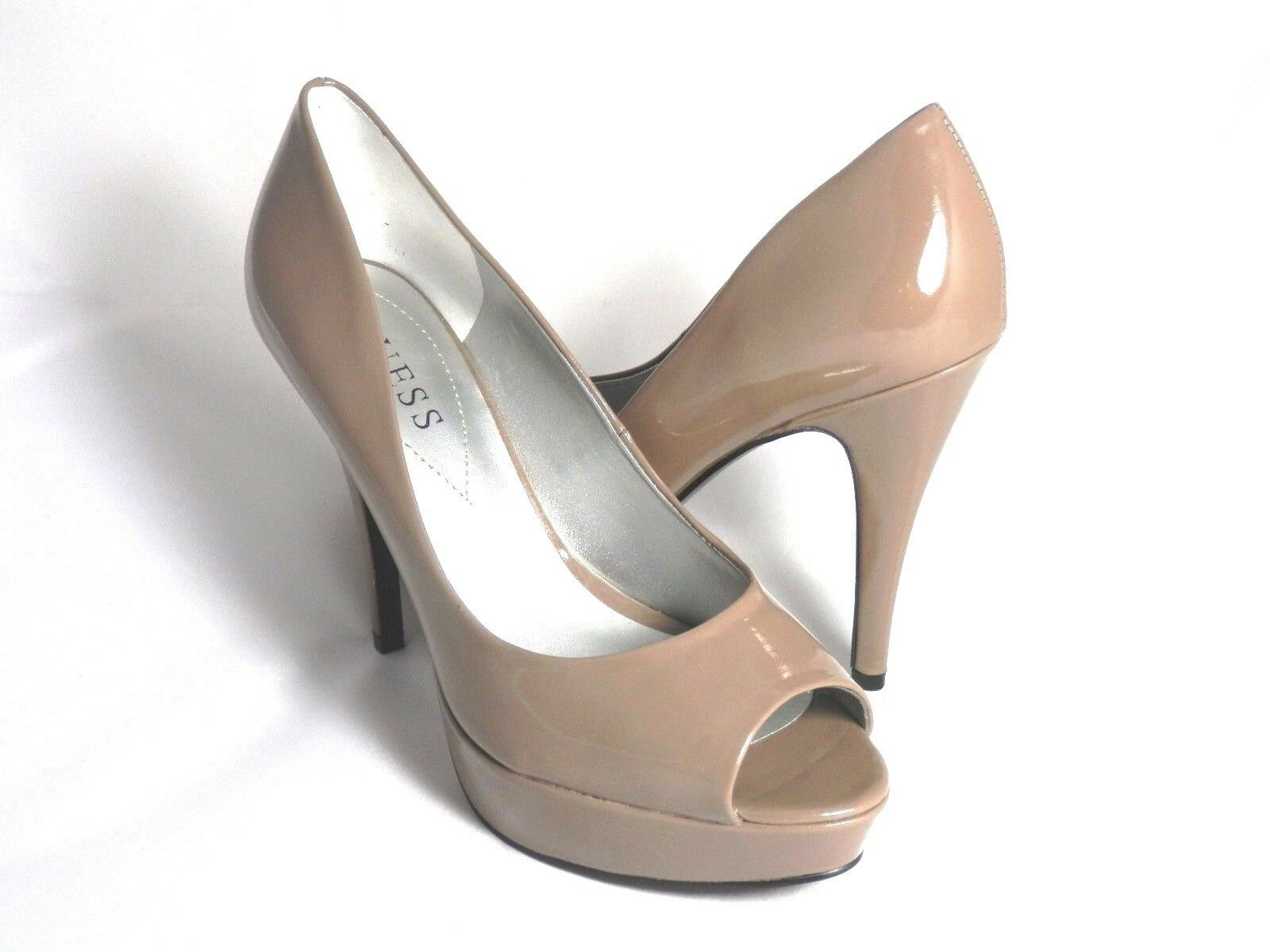 varie dimensioni New New New Display Guess Open Toe Pumps By Marciano Abellona Taupe Dimensione 10  perfezionare