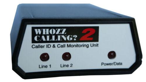 Inbound Outbound Serial De Luxe Caller ID for Aldelo 2 Lines NEW Whozz Calling