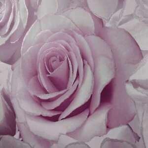 Madison-Rose-Paillette-Floral-Papier-Peint-Violet-Lilas-Muriva-139522