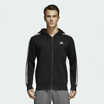 adidas essentials 3s light fz hoodie sweatjacke herren