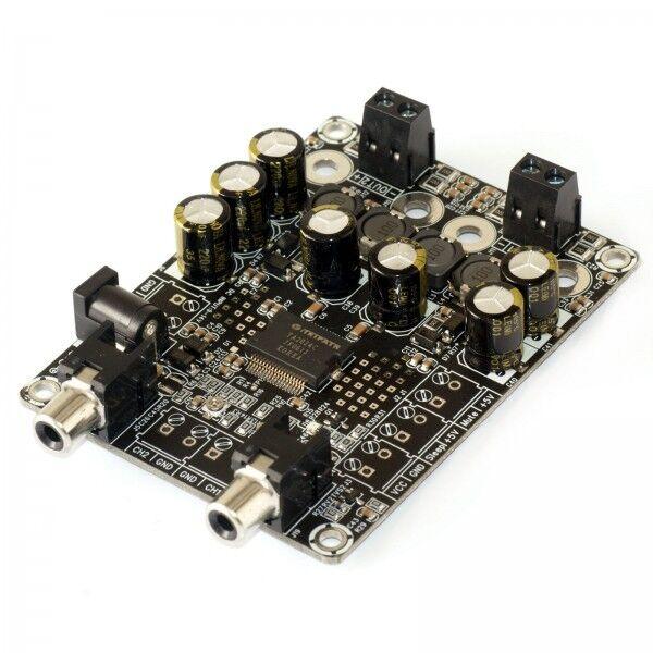 WONDOM 2X15W 4 ohm Class-D Audio Amplifier Board TA2024 Module dual channel