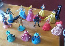 Disney lot of 14 miniatures Cinderella Snow White Mulan Sleeping Beauty