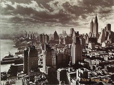 Manhattan New York City 1931 Art Print Vintage NYC NY Photo Poster 31.5x23.5