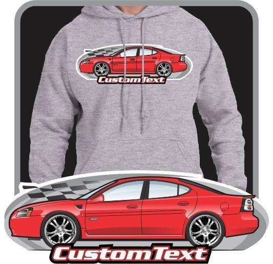 Custom Art Hoodie sweatshirt 04 05 06 07 08 Pontiac Grand Prix GT1 GT2 GTP Comp