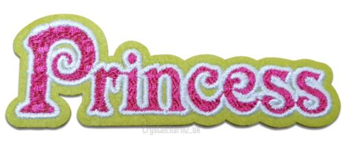 Princess Girl Crown Iron Sew On Embroidered Applique Patch *Buy 2 get 10/% off*