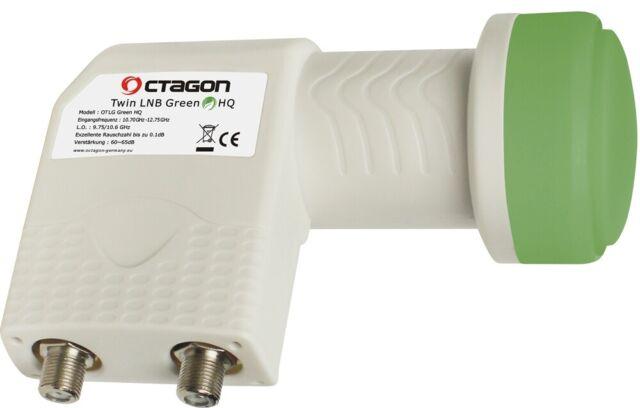 Octagon Twin Green PLL HQ OTLG LNB 0.1dB