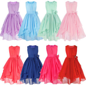 Girls dress skirt girls dress pleated skirt Princess Dress for Wedding party