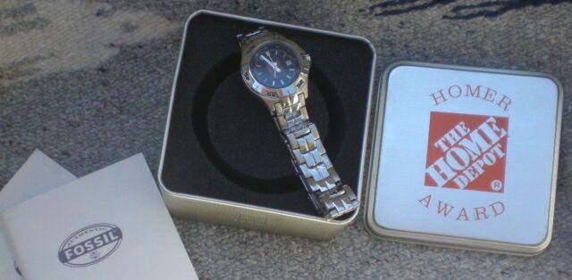 0f0de6680590 Home DEPOT Homer Award Women s Fossil Watch for sale online