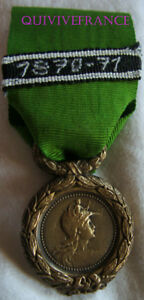 DEC4910-MEDAILLE-ENGAGES-VOLONTAIRES-MINEURS-1870-1871