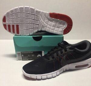 best sneakers f8bab d8831 NIKE SB KOSTON MAX #855678-001 BLACK / DARY GREY - WHITE | eBay