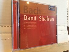 CD - BACH SUITES FOR SOLO CELLO Daniil Shafran SEALED M