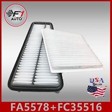 FA5578 FC35516 PREMIUM ENGINE /& CABIN AIR FILTER for 2003-2009 4RUNNER V6 4.0L
