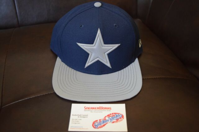 New Era Men s NFL Dallas Cowboys 9Fifty Snapback Blue Silver Reflective fa93ad6a2