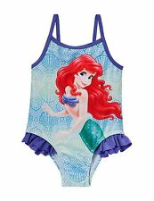 3e5566fd6af0b DISNEY THE LITTLE MERMAID ONE PIECE RUFFLED SWIMSUIT SIZE 18 MONTHS RETAIL   30