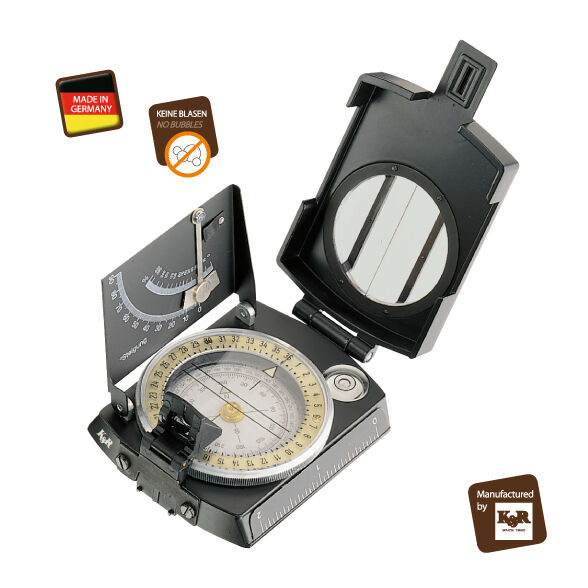 Kasper & Richter Meridian Pro Theodolite & Geologists compass