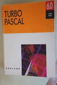 TURBO-PASCAL-6-0-Bordland-Turbo-vision-vetusware-1990