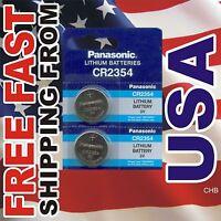 2 PANASONIC CR2354 3V BATTERIES CR 2354 NEW 3v Lithium battery