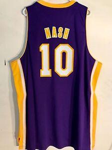 61b2b7be3 Adidas Swingman NBA Jersey Los Angeles Lakers Steve Nash Purple sz ...