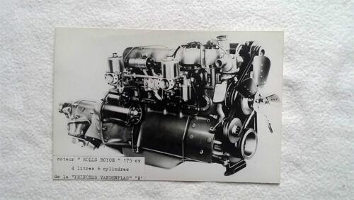 Modelle Bild photo automobil Oldtimer Oldies Presse Foto ROLLS ROYCE verschied
