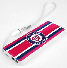 Mizco MLB Washington Nationals 3k Slim Power Bank Powerbar - FREE SHIP!!