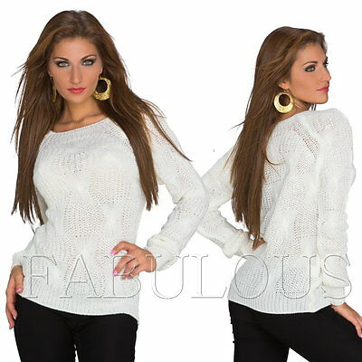 Sexy European Womens Jumper Top Sweater Pullover AU/ UK SIZE 8 10 (US 4 6) S M