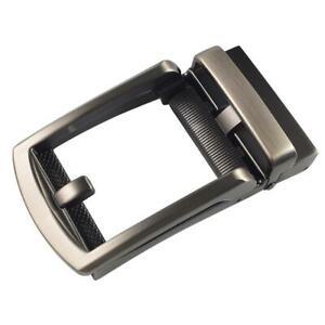 Men-Ratchet-Metal-Leather-Belt-Buckle-Replacement-Automatic-Slide-Buckle-Decor