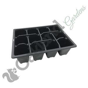 10 x literie packs 12 multi cell inserts en plastique plateau plateaux graines semences de qualité