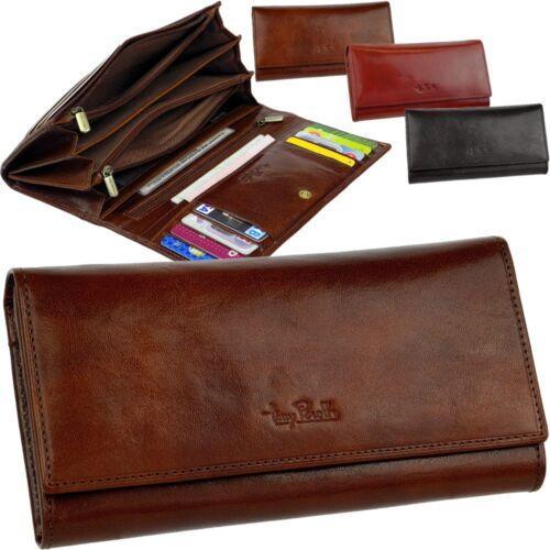 4 Reißverschlussfächer TONY PEROTTI Damen Geldbörse Portemonnaie Geldbeutel