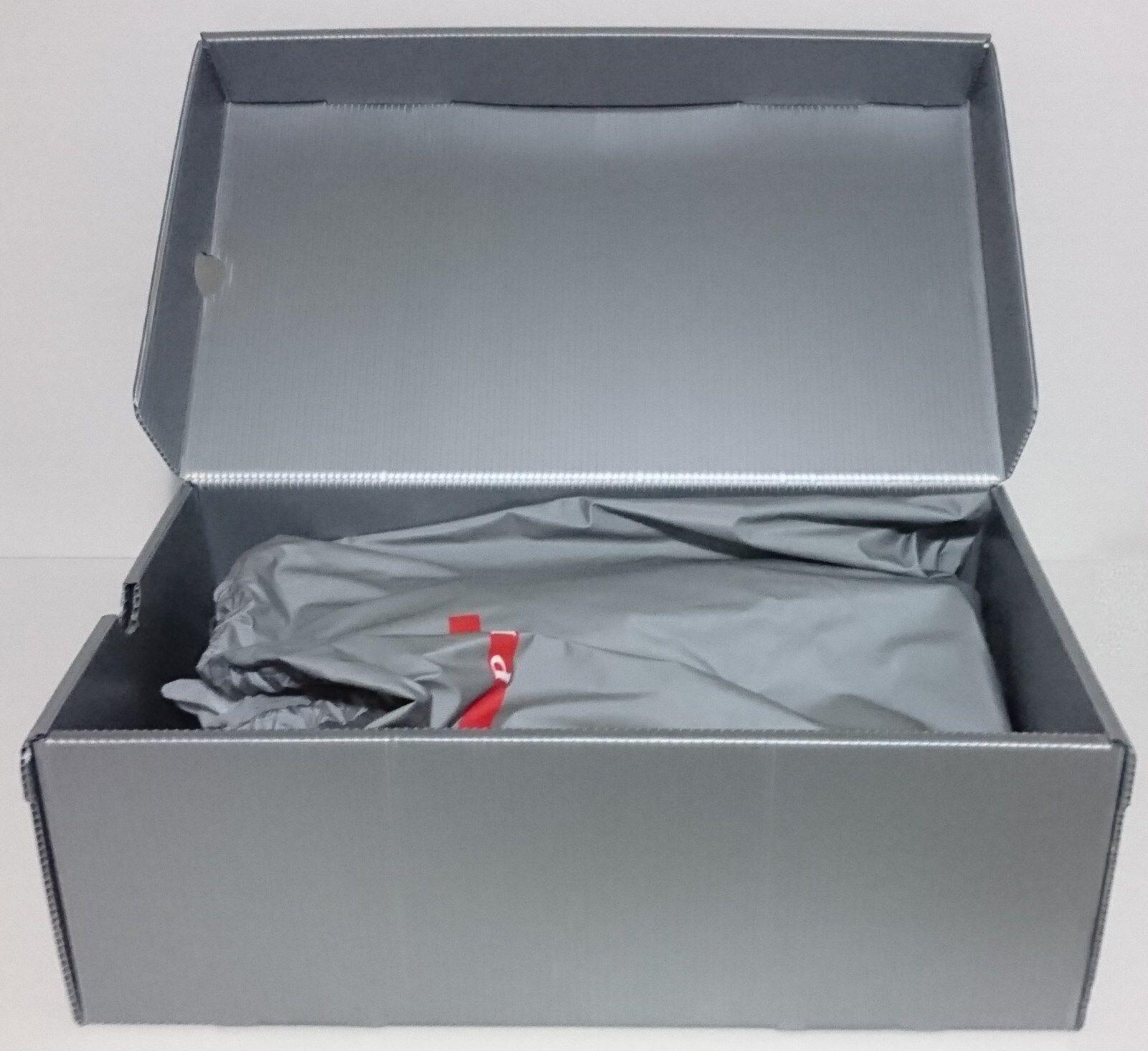 PRADA SCARPA NERO NERO NERO UOMO CON LACCI VITELLO BOXELLE NERO TAGLIA 44 - Dimensione 10 | Forte calore e resistenza all'abrasione  | Scolaro/Ragazze Scarpa  dee553
