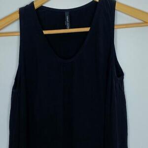 White-Label-Women-039-s-Black-Viscose-Dress-6-A7-23