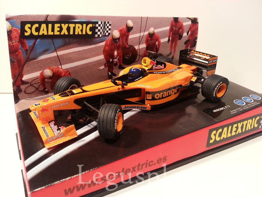 Slot SCX Scalextric 6098 Arrows F-1  G.P. Monaco 2002