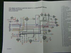 MerCruiser 4.3L Alpha Bravo & 5.0L Alpha Carbuteted 14 ...