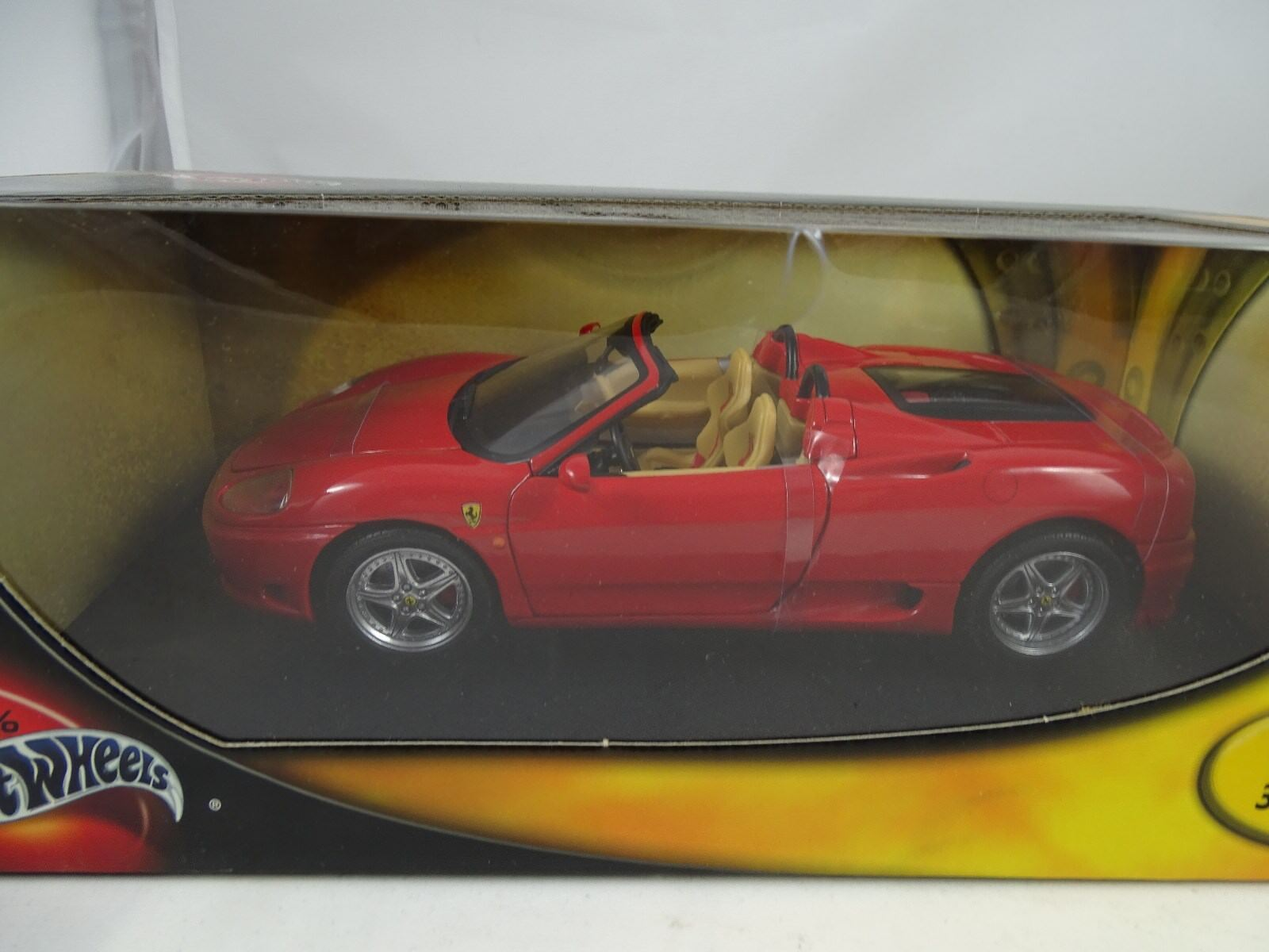 1:18 Hot Wheels Ferrari 360 Ragno Rosso - Rarità §