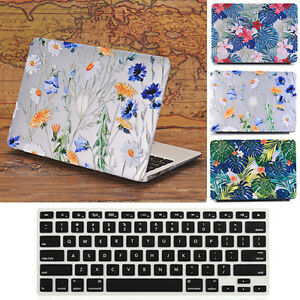 Matte-Flower-Design-Hard-Case-Keyboard-Cover-for-Macbook-Air-Pro-13-and-Retina