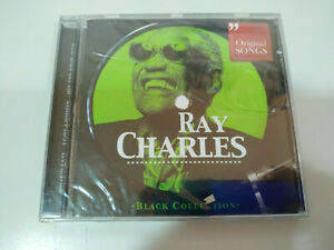 Ray-Charles-Original-Songs-Greatest-Hits-Black-Collection-CD-Nuevo-2T