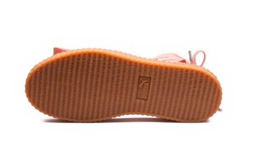 140 Fenty Puma By Rihanna Rihanna Rihanna Damens Bow Creeper Sandale Pink (365794-01) Sz 8.5 89a13d