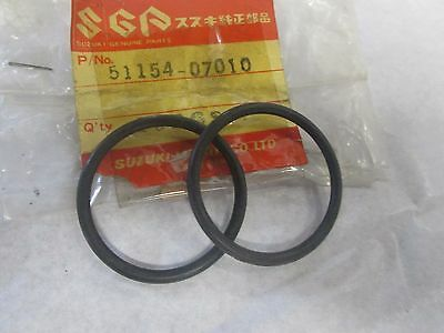 Suzuki NOS RV125 S-145a TC100 # 51154-07010 TS100 Fork Oil Seal O-RING