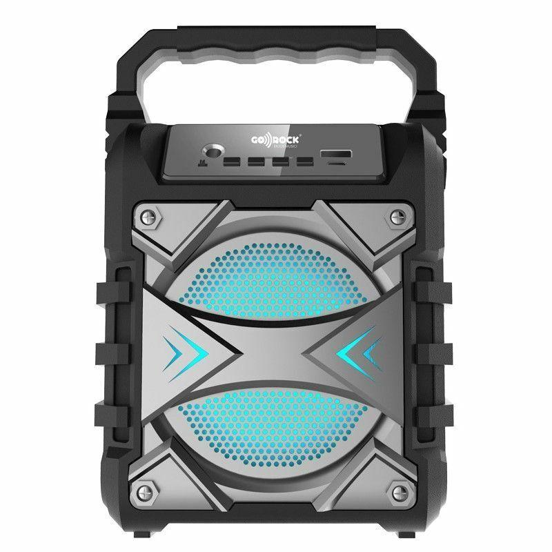 s l1600 - Altavoz portátil BLUETOOTH, Potencia: 5W. GO-ROCK GR-WSK50