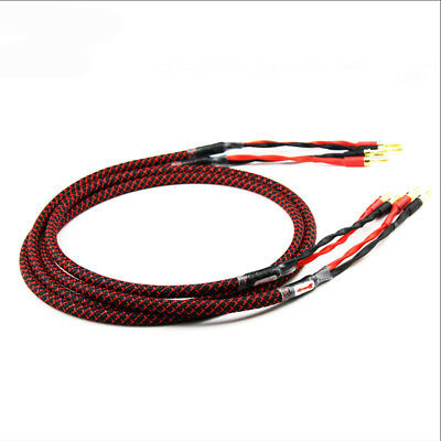 24K Soldered or Screwed Gold-Plated,in Black and Red Audiocrast 8X High End Banana Plugs for Cables up to 6 mm/²