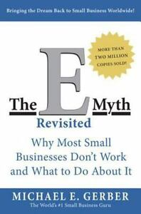 The-E-Myth-Revisited-by-Michael-E-Gerber-a-paperback-book-FREE-SHIPPING-emyth