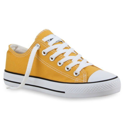 892735 Sportliche Damen Sneakers Schnürer Flach Schuhe 35-42 Trendy
