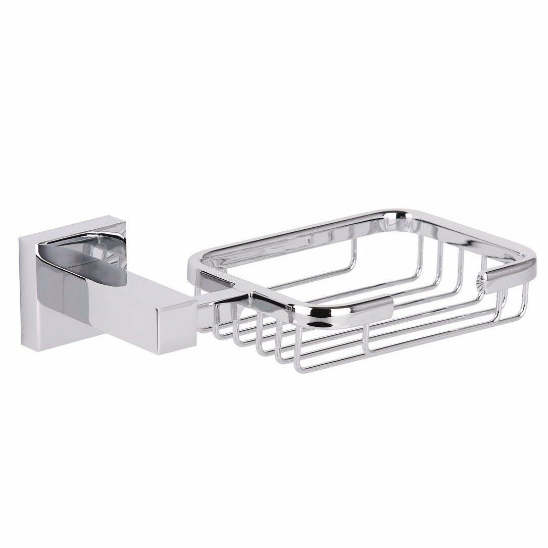 Mondella ROCOCO SOAP HOLDER 190mm+Fixing Kit, Wand Mounted CHROME Aust Brand